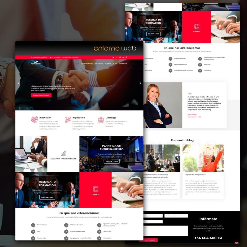 Web Corporativa - Agoratrain.com