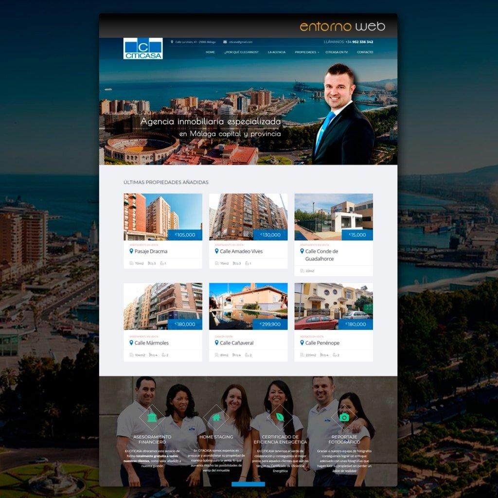 Web Inmobiliaria - Citicasa.es