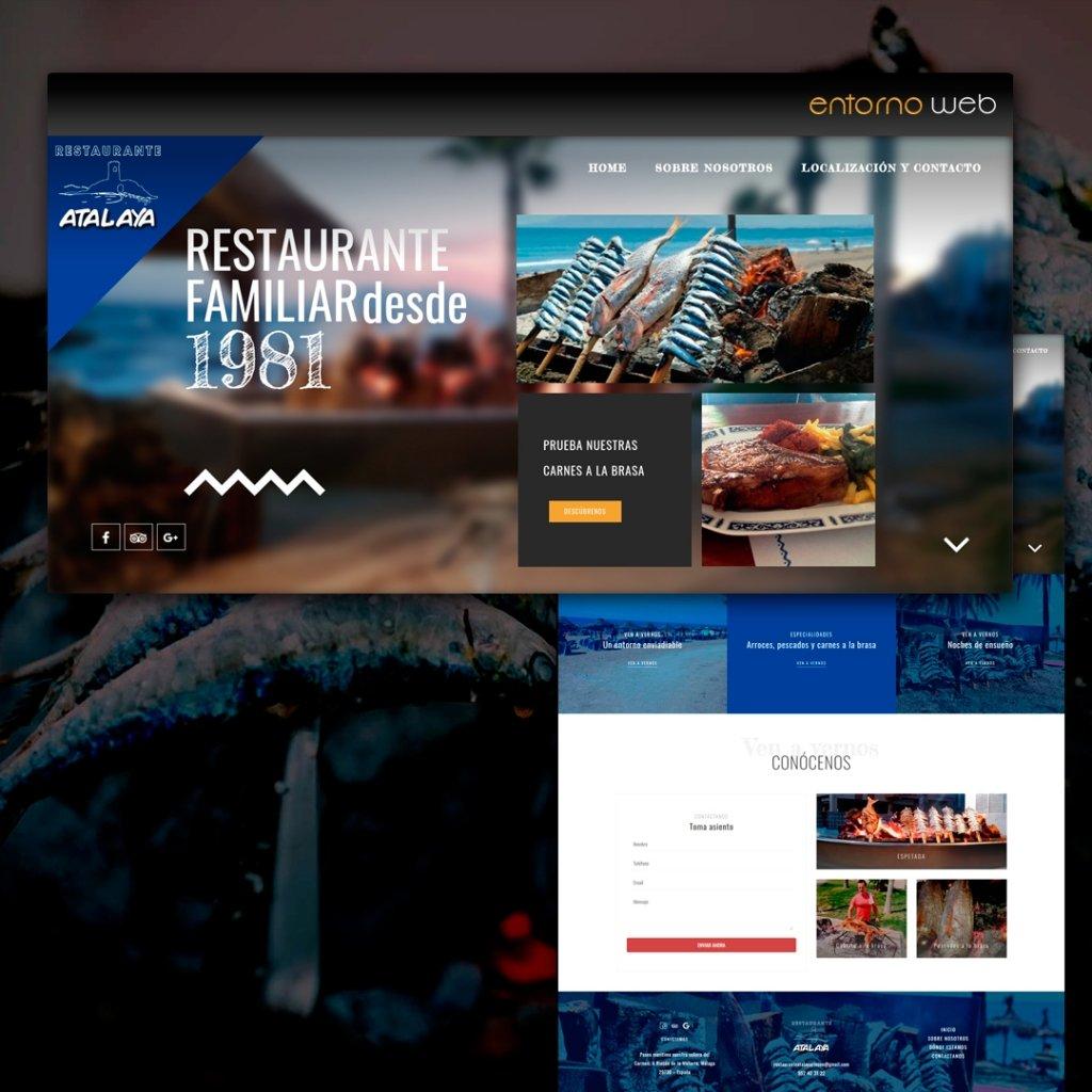 Desarrollo Web - Restaurante Atalaya