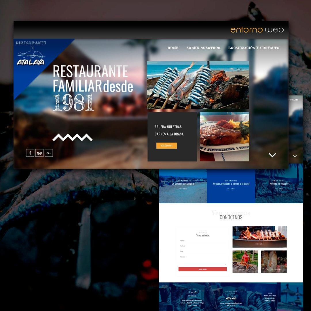 Desarrollo Web Restaurante en Málaga